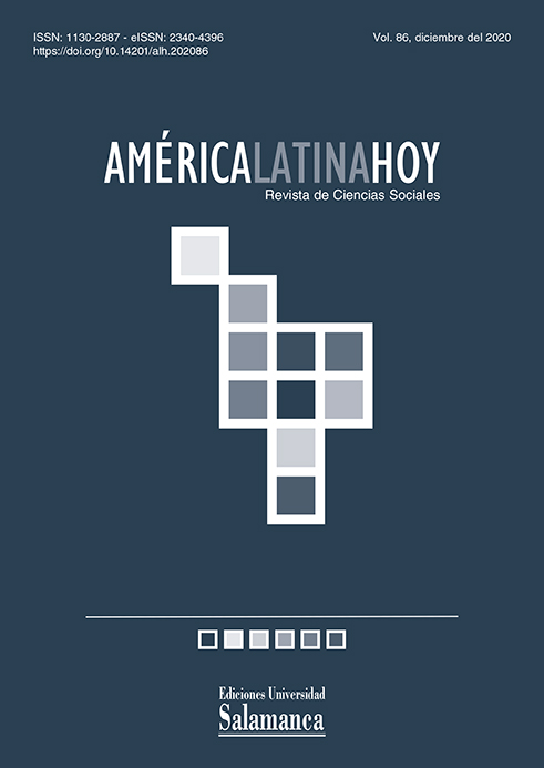 cover image for the América Latina Hoy journal