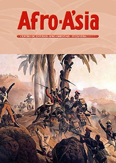 cover image for the Afro-Asia journal