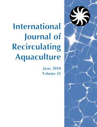 cover image for the International Journal of Recirculating Aquaculture journal