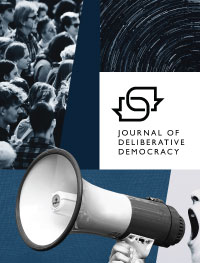 cover image for the Journal of Deliberative Democracy journal